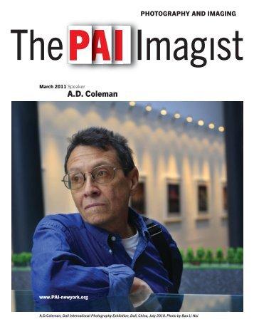 A.D. Coleman - Pai-newyork.org