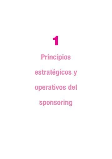 Principios estratégicos y operativos del sponsoring