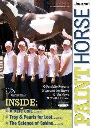 PAINTHORSE Dec07/Jan08 qxd - Paint Horse Association of Australia