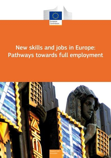 New skills and jobs in Europe: Pathways towards full employment