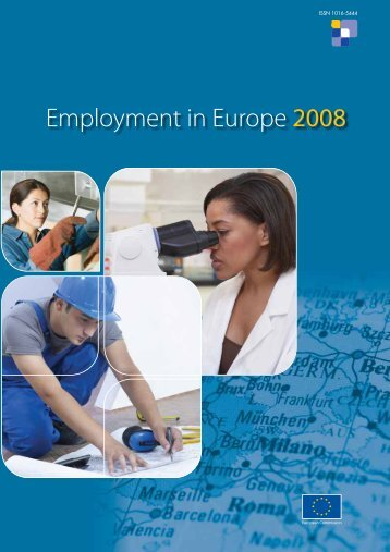 Employment in Europe Report 2008 - European Commission - Europa
