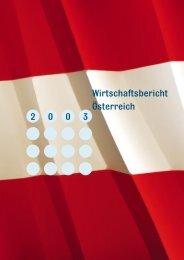 Wirtschaftsbericht Österreich 2003 - Bundesministerium für ...