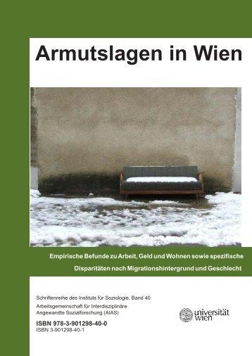 (PDF) Armutslagen in Wien - Statistik Austria