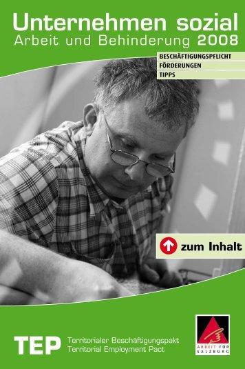 Unternehmen sozial - Land Salzburg