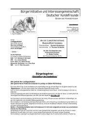 Hundesteuer - Politischer Arbeitskreis für Tierrechte in Europa (PAKT)
