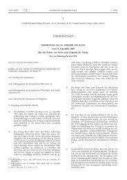Verordnung (EG) Nr. 1099/2009 des Rates vom 24 ... - EUR-Lex