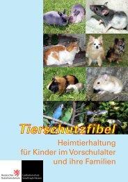 Tierschutzfibel - Heimtierhaltung für Kinder im ... - (PAKT) e.V.