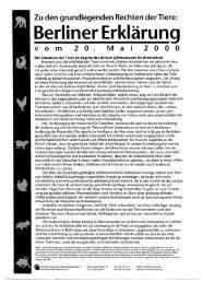 Berliner Erklärung - (PAKT) e.V.