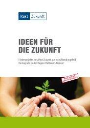 Pakt Zukunft - Ideen für die Zukunft