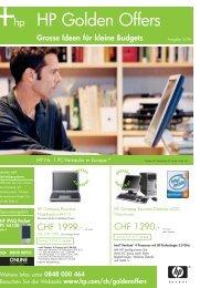 HP Golden Offers - Egli EDV-Beratungen