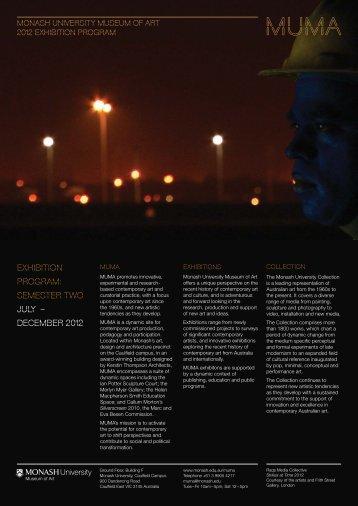 Semester 2 flyer 2012 v2.indd - Australia New Zealand Workshop in ...