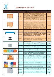 Tabela de Preços 2011 - 2012 - Kika Toys
