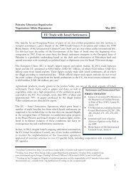 EU Trade with Israeli Settlements - Palestine Liberation ...