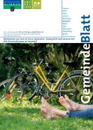 Mobilwoche 2011 vom 16. bis 22. September - Beweg dich nach ...