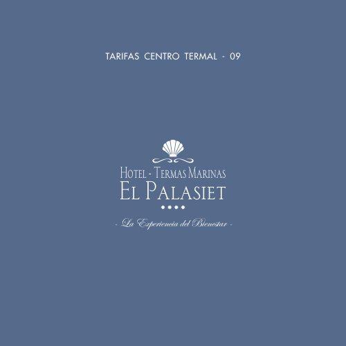 TARIF CENT TERM 09 SP-1 - Termas Marinas El Palasiet