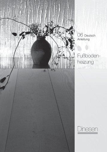Fußboden- heizung - Dinesen