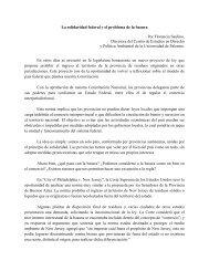 La solidaridad federal y el problema de la basura - Universidad de ...