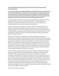 Carta en español - Universidad de Palermo