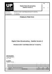 TRABAJO PRÁCTICO Digital Video Broadcasting – Satélite Versión 2