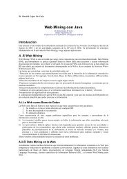 Web Mining con Java