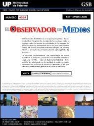 Septiembre 09 - Universidad de Palermo