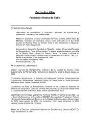 CURRICULUM VITAE - Universidad de Palermo