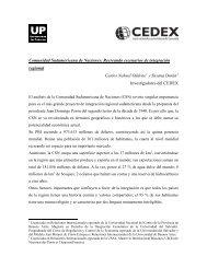 Comunidad Sudamericana de Naciones - Universidad de Palermo