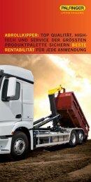 abrollkipper: top qualität, high- tech und service der ... - Palfinger