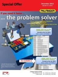 … the problem solver - Palfinger