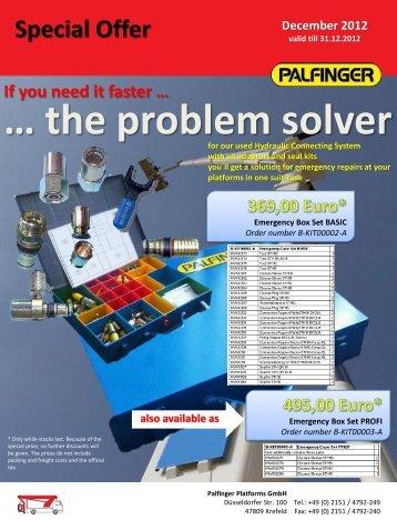 … the problem solver - Palfinger