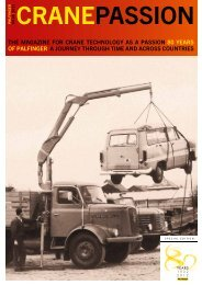 The magazine for crane Technology aS a paSSion 80 ... - Palfinger
