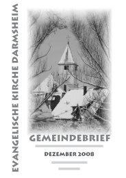 Gottesdienste Weihnachten und Jahreswechsel - Evangelische ...