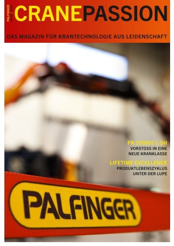 Crane passion - Palfinger