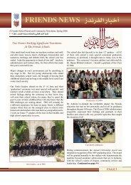 Spring 2006 - Ramallah Friends Schools