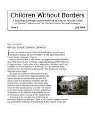 Issue 7 - June 2009 - Ramallah Friends Schools
