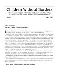 final Childrenw-oBordrs 6-07 - Ramallah Friends Schools