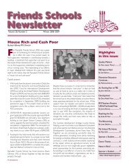 House Rich and Cash Poor - Ramallah Friends Schools