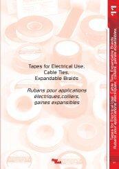 Rubans pour applications électriques,colliers ... - Palissy Galvani