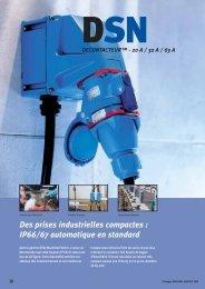 Des prises industrielles compactes : IP66/67 ... - Palissy Galvani