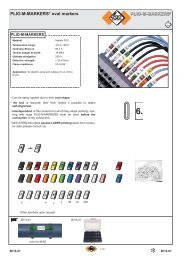 PLIO-M-MARKERS® oval markers - Palissy Galvani
