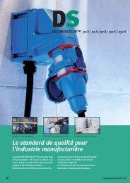 Le standard de qualité pour l'industrie ... - Palissy Galvani