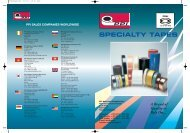 Specialty Catalogue - PPI Adhesive Products