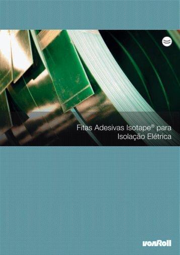 Fitas Adesivas Isotape® para Isolação Elétrica - Palissy Galvani