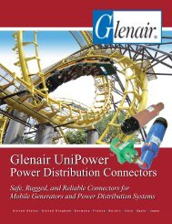 UniPower™ Power Distribution Connectors - Glenair, Inc.