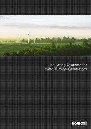 Insulating Systems for Wind Turbine Generators - Palissy Galvani