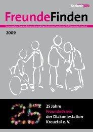 Seniorenpost Freunde Finden - Stiftung Diakoniestation Kreuztal