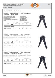 KKPP SES® sleeve expanders series KP - Vanpee