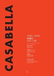 Indici Casabella 1996-2005 in pdf - Andrea Palladio