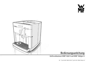 bedienungsanleitung wmf 450. Black Bedroom Furniture Sets. Home Design Ideas