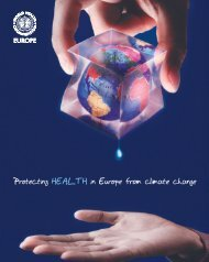 Protecting health in Europe  from climate change - World Health ...